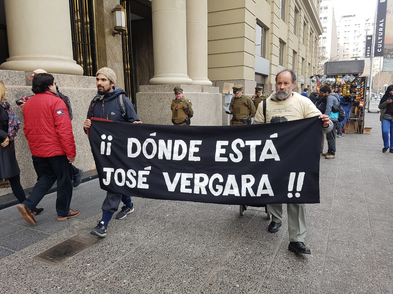 José Vergara: Detenido y desaparecido por Carabineros en democracia
