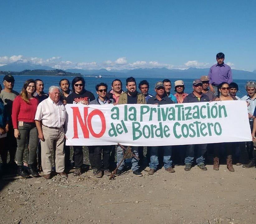 Operacion encubierta para Privatizar el Borde Costero