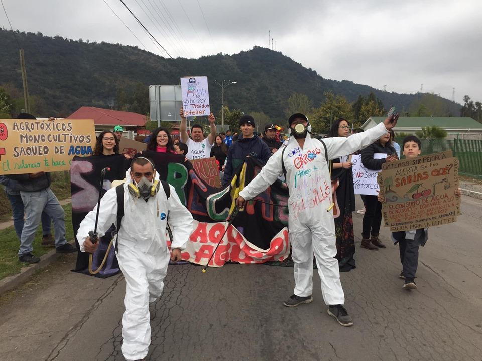 """Agrícolas, Forestales e hidroeléctricas amenazan la vida en """"Alto Colchagua"""""""