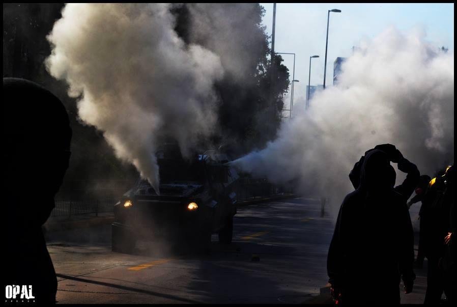 Explosión social en Chile por alza de transporte