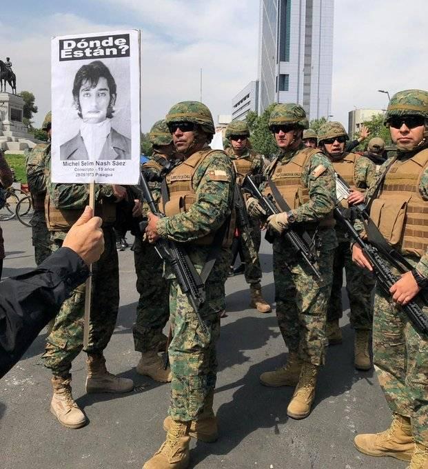 Chile bajo el terrorismo de estado y el crimen contra el pueblo