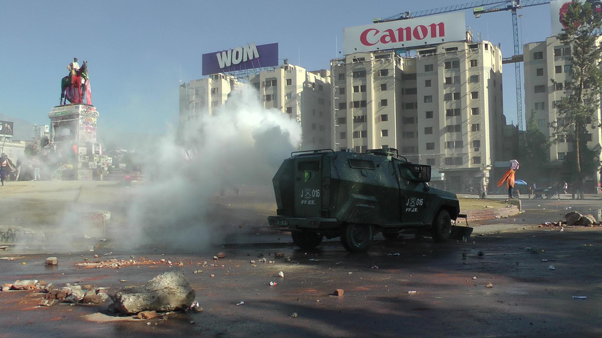 A pesar de la represión, Chile sigue en la calle