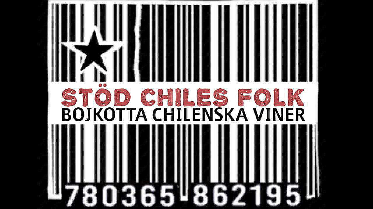 Inician BOICOT a exportaciones chilenas, en apoyo a demandas sociales