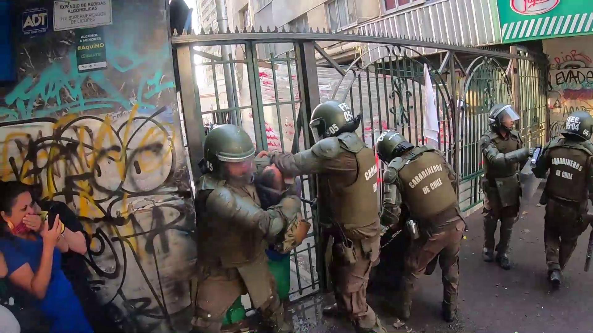 Preocupación internacional por aprobación de leyes represivas en Chile