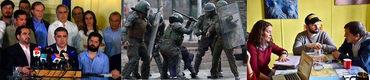 Carabineros y el Estado de Chile                                                 La Banalidad del Mal.