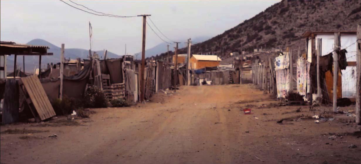 La realidad de los campamentos en el Chile neoliberal.